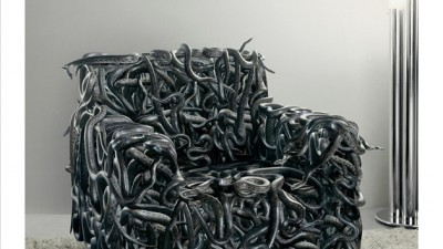 AXN, Sony's Satellite TV channel - Snakes armchair
