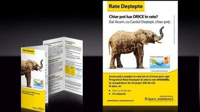 Banca Romaneasca - Rate destepte (flyer)