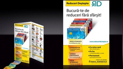 Banca Romaneasca - Reduceri destepte (flyer)