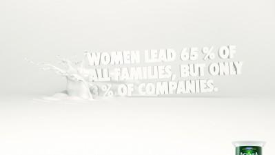 Danone Activia - Women lead