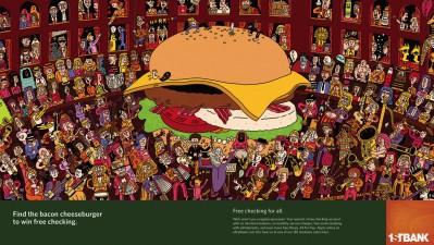 FirstBank - Bacon cheeseburger
