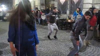 Flashmob: J&B - City Remix (Bucuresti)
