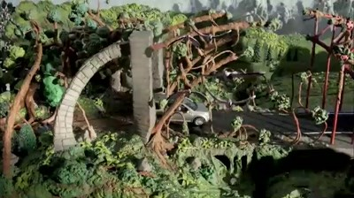 Land Rover - Claynation