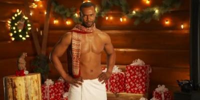 Old Spice MANta Claus: ho, ho, ho devine hot, hot, hot!