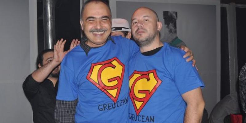 Doua tricouri de Greucean pentru Adrian Preda si Calin Ionescu in cadrul editiei a treia a Petrecerii Agentiilor