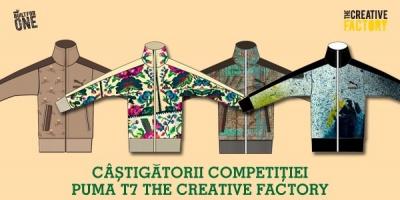 Conceptele creative ale lucrarilor castigatoare din competitia PUMA T7 The Creative Factory