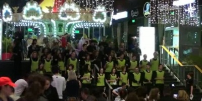 Cica a fost flashmob la Sun Plaza: #FlashmobCuLer