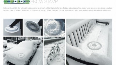 Polo Mints - Snow Stamp