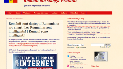 Romanii sunt destepti – Reactii din presa internationala (Republica Moldova)