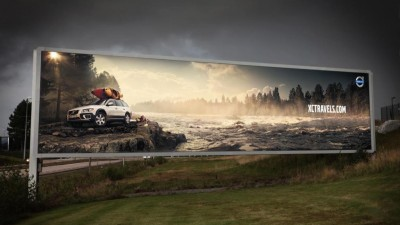 Volvo XC Travels - Water