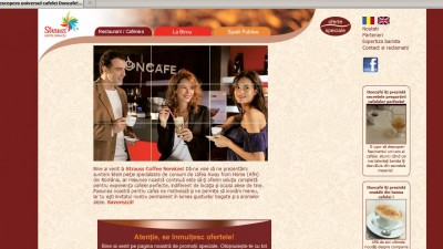 Website: coffeeservices.ro - Homepage