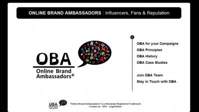 Website: Online Brand Ambassadors