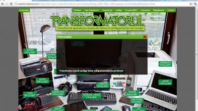 Website: Transformatorul.com - Homepage