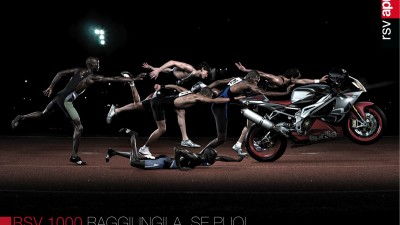 Aprilia RSV 1000 Motorcycle - Runners
