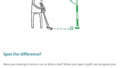 Google - Good to know, golf