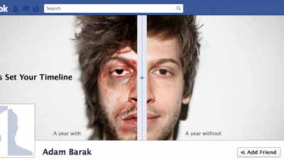 Israel's Anti-Drug Authority - Drugs on a Facebook Timeline