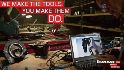 Lenovo - We make the tools, 2