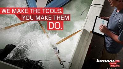 Lenovo - We make the tools, 3