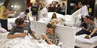 Seara pijamalelor de gala la IKEA