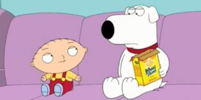 Smartass Stewie loveste din nou. In accent