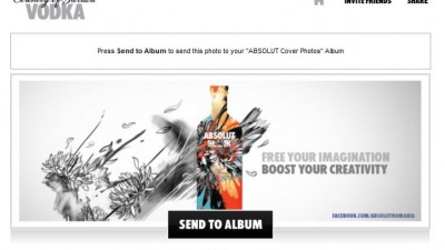 Aplicatie de Facebook: ABSOLUT VODKA - Absolut Inspiration Cover Photos (2)