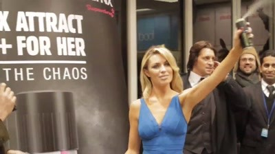 AXE / Lynx Attract - For Him And For Her, Launch with Abbey Clancy