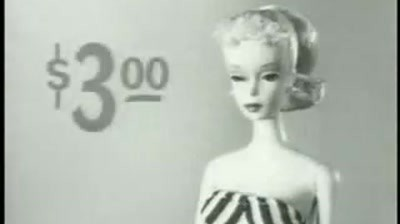 Barbie - First Commercial, 1959