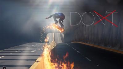 Burn Energy Drink - Skater