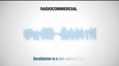 Case Study: Gerolsteiner - Change your name to Gerolsteiner
