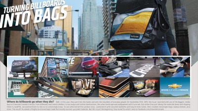 Chevrolet - Billboards Into Bags