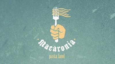 Macaronia Pasta Land - Logo