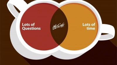 McDonald's McCafe - Lots of Questions