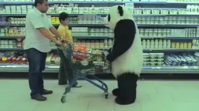 Panda Cheese - Never say no to a panda, Supermarket