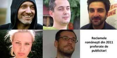 Serban Alexandrescu, Liviu Turcanu, Dani Macarie, Marius Rosu si Corina Bacanu despre ad-urile romanesti preferate din 2011