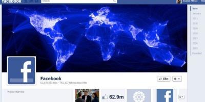 Facebook a introdus astazi optiunea de a adauga Timeline pentru pagini