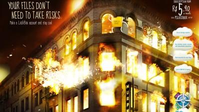 Psafe LockBox - Flame