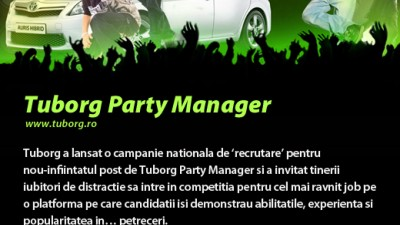 Tuborg - Party Manager
