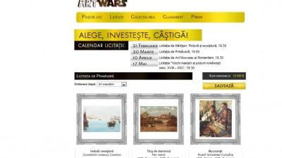 Aplicatie Facebook: Artmark – ArtWars