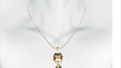 Bagues Jewellery - Necklace on white