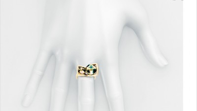 Bagues Jewellery - Ring on white