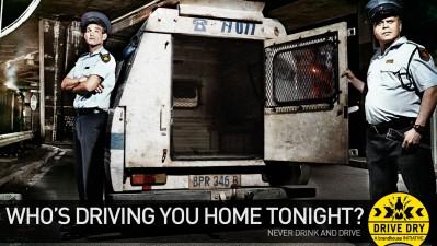 Brandhouse Drive Dry Initiative - Police Van