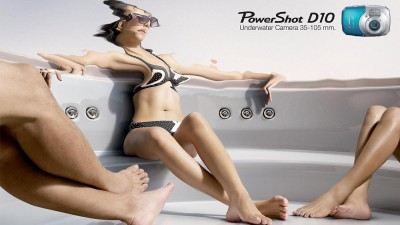 Canon PowerShot D10 Underwater Camera - Jacuzzi