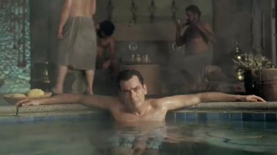 DirecTV - Turkish Bath house & Charlie Sheen