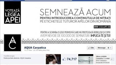 Facebook: Aqua Carpatica - Timeline