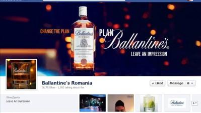 Facebook: Ballantine's - Timeline