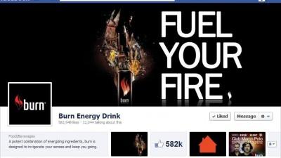 Facebook: Burn - Timeline