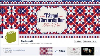 Facebook: Carturesti - Timeline
