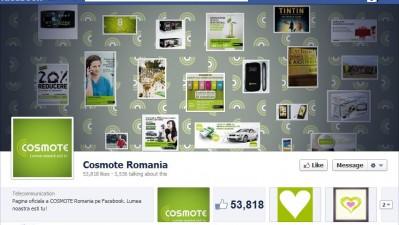 Facebook: Cosmote - Timeline