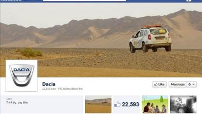 Facebook: Dacia - Timeline