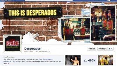 Facebook: Desperados - Timeline